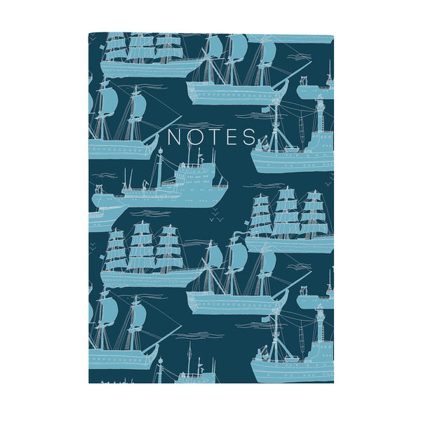 Ships - Mini Notebook