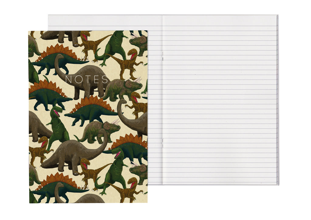 Dinosaurs - A5 Notebook
