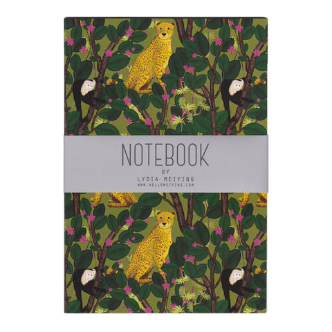 Cheetahs and Monkeys - A5 Notebook