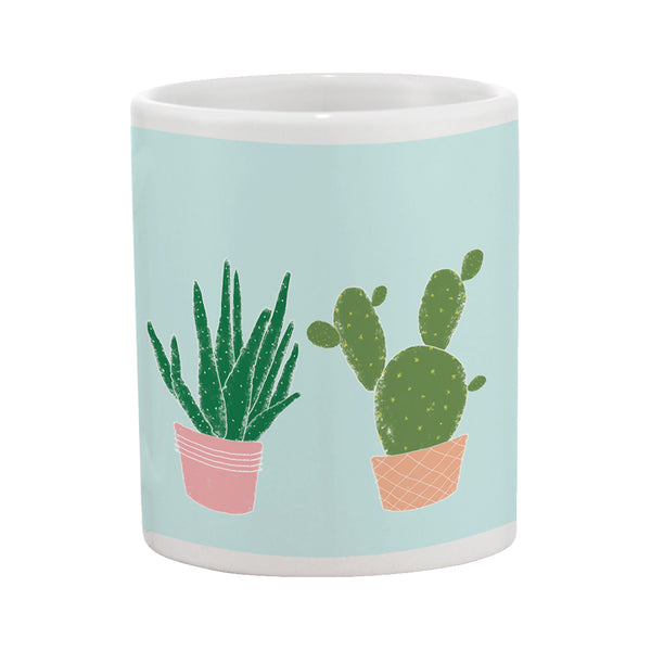 Succulents (blue)