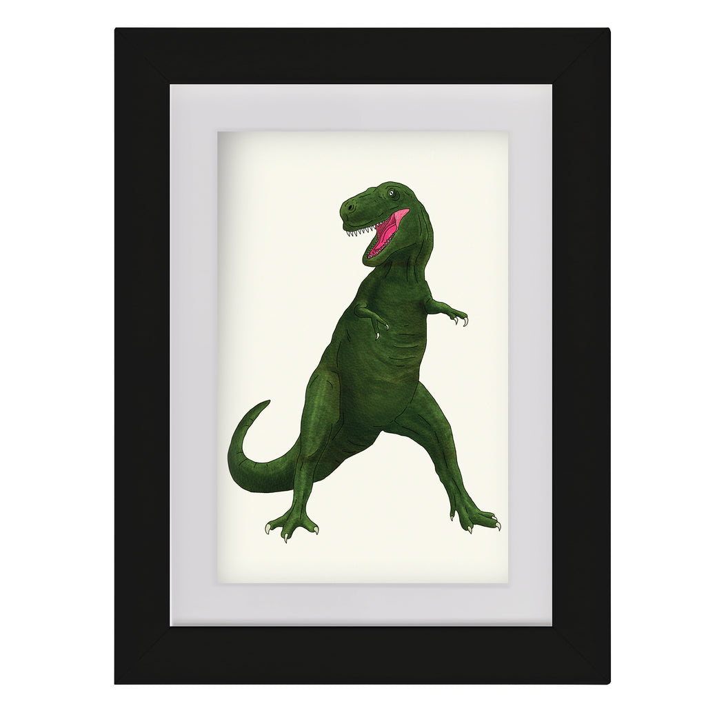 T Rex • Framed Mini Print