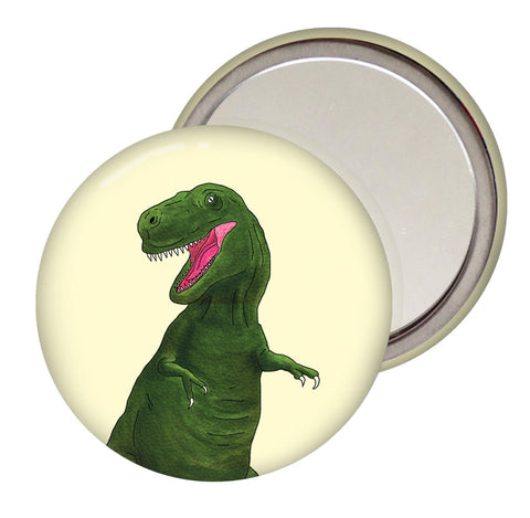T Rex Pocket Mirror