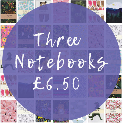 Offer! 3 Mini Notebooks