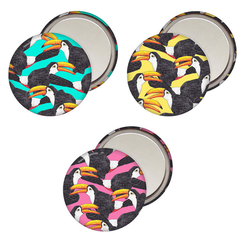 Toucan Pocket Mirror