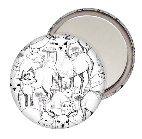 Woodland Pocket Mirror