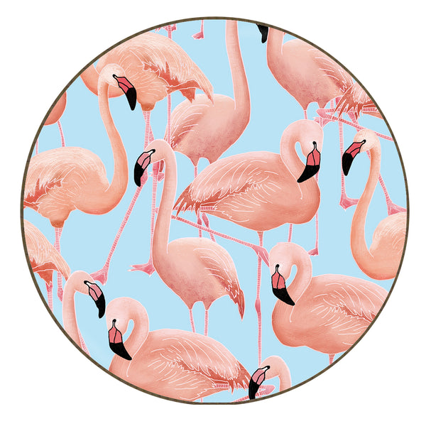 Flamingos - Coaster