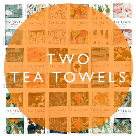 OFFER! Two Tea Towels