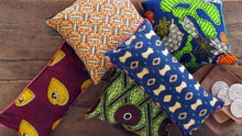 Free Shipping!!! Lumbar Cushion Cover / African Wax Cushion