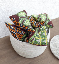 Pyramid Cushion For Your Couch (M) With Washable Cover In African Fabric Cushion