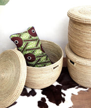 Storage Natural Plain Basket / Toy Palm Tree Flat Lid