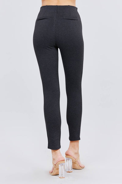 Waist Elastic Band Ponte Pants