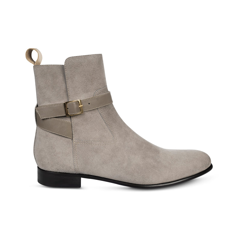 The Honor in Taupe | Boots | Donum Shoes