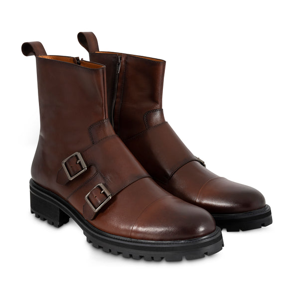 Double Monk-Strap Boots | The Hybrid
