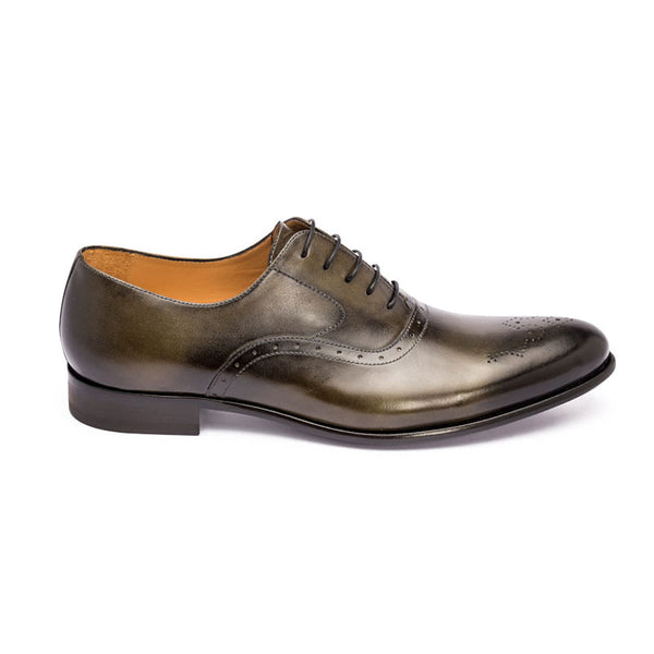 The Ace in Hunter Green | Oxford | Donum Shoes