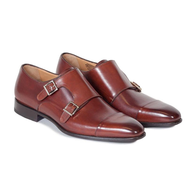 Classic Double Monk Strap dress-shoes | The Chap