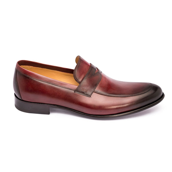 The Coin in Bordeaux | Loafer | Donum Shoes