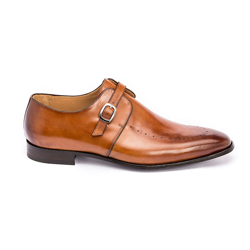 The Gent in Cognac (Tan) | Mock | Donum Shoes