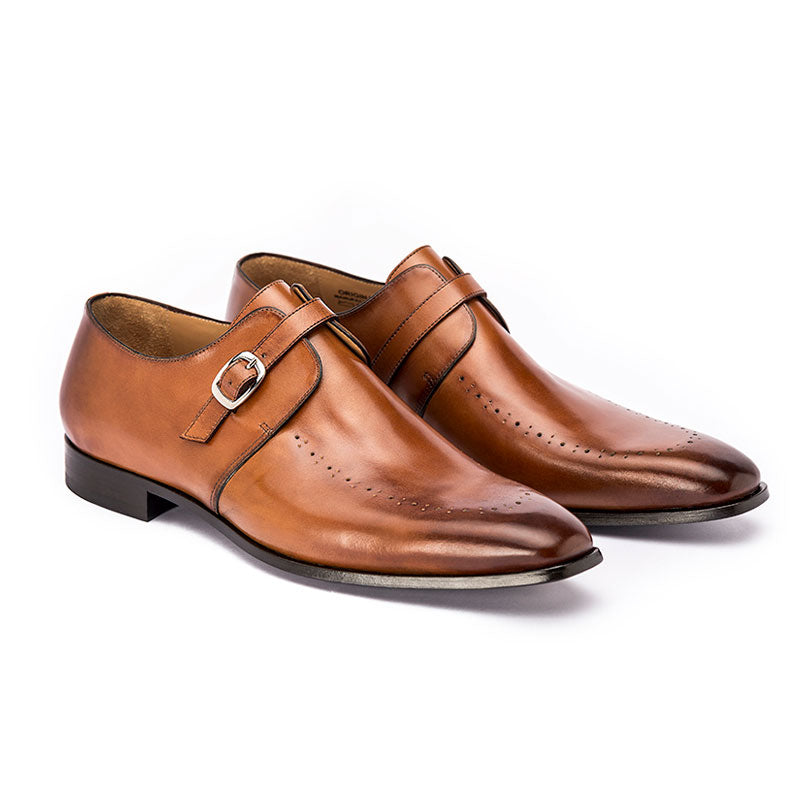 Classic single monk dress-shoes | The Gent
