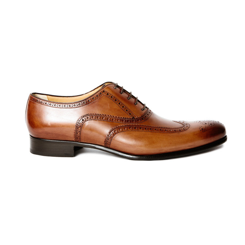 The Grand in Cognac (Tan) | Oxford | Donum Shoes