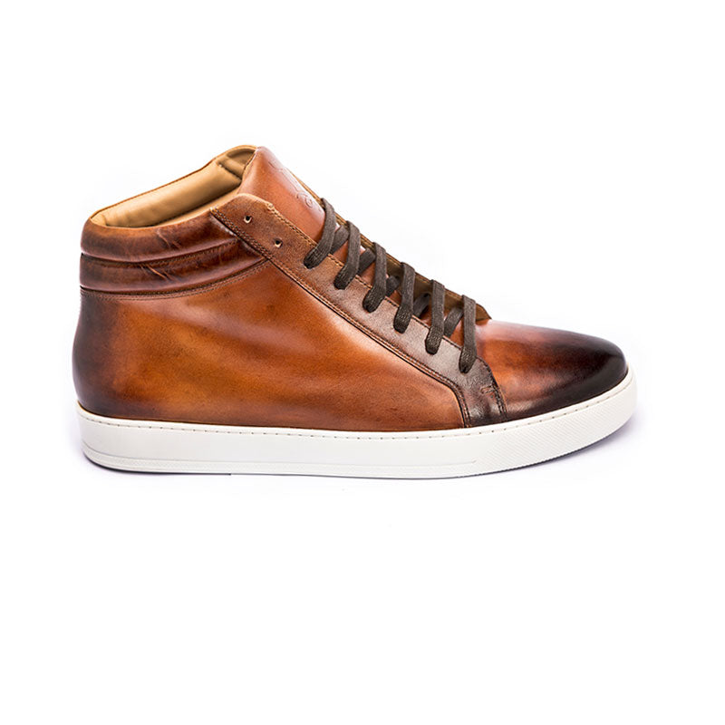 The Ringer in Cognac (Tan) | Sneakers | Donum Shoes
