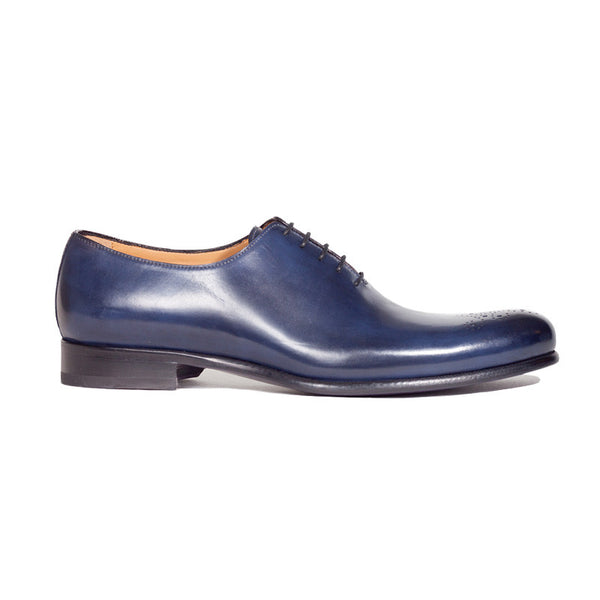 The Royce in Midnight Blue | Oxford | Donum Shoes
