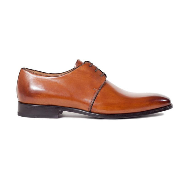 The Smooth in Cognac (Tan) | Derby | Donum Shoes