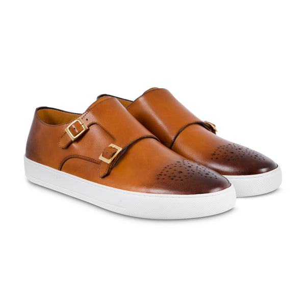 Double Monk Strap Sneaker | The Noble Crust