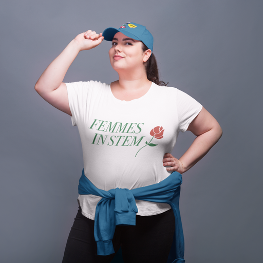 Femmes in STEM Fitted Tee