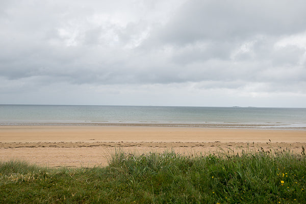 Utah Beach, objective for D-Day was to secure guns near Sainte Marie-du-Mont behind location of this photo.