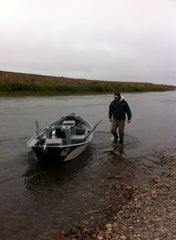 Fishing Guide Will Beggs on the North Platte River in Wyoming