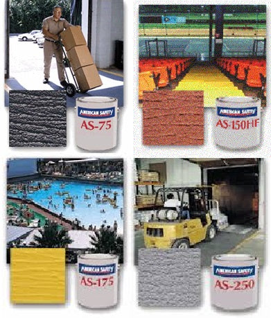 American Safety Non-Skid Coatings - Side By Side