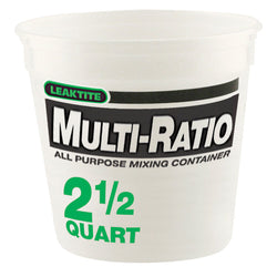 2-1/2 Quart Measuring Container
