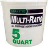 5 Quart Measuring Container