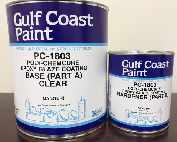 Gulf Coast Paint PC-1803 Clear Epoxy (PC-1803-1)