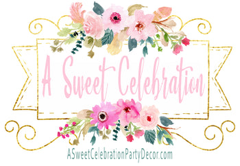 A Sweet Celebration Party Decor