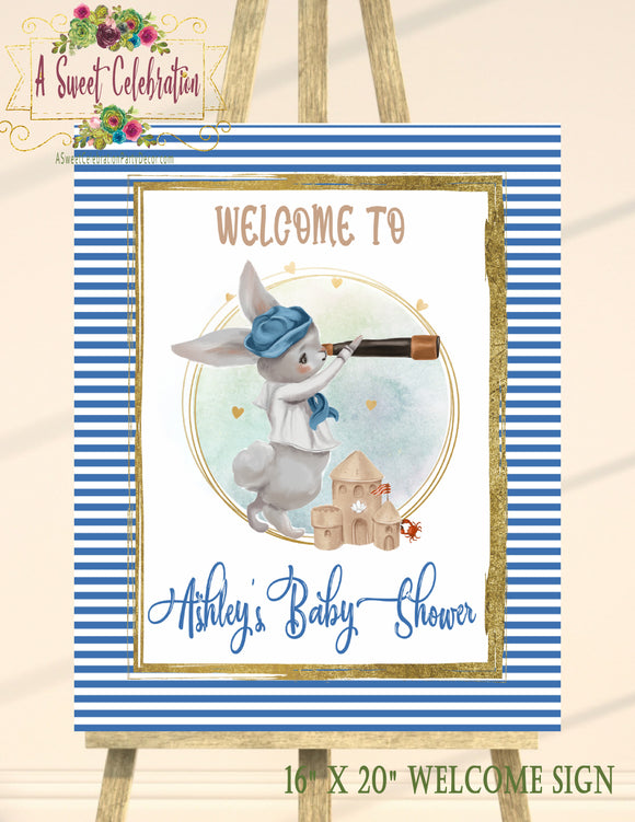 NAUTICAL LITTLE SAILOR - BABY SHOWER - 16