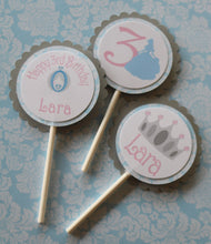 CINDERELLA CUPCAKE TOPPERS