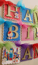 IT'S A SMALL WORLD - HAPPY BIRTHDAY BANNER