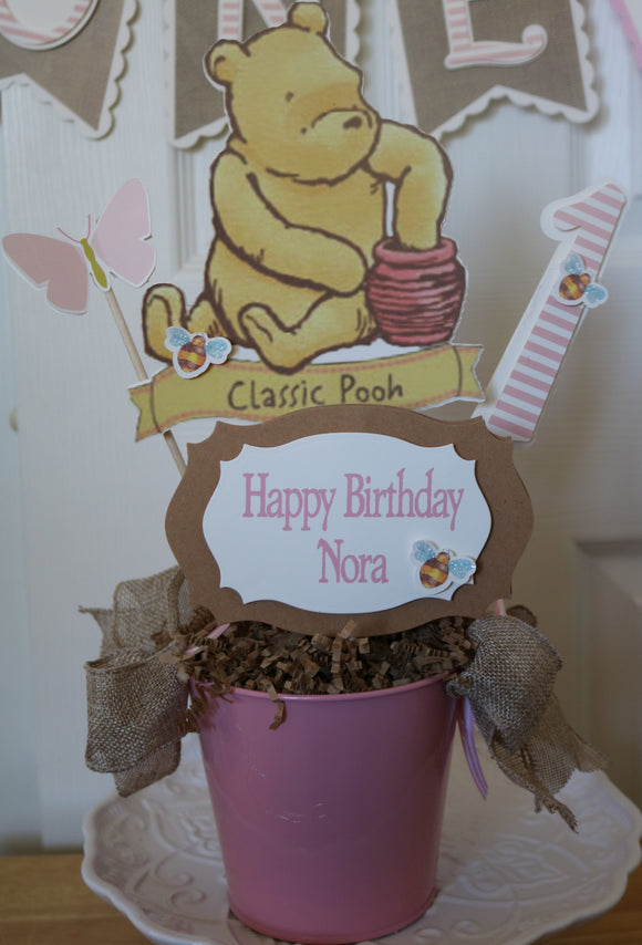 WINNIE THE POOH CLASSIC CENTERPIECE