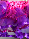 TUTU - PURPLE and FUSCHIA
