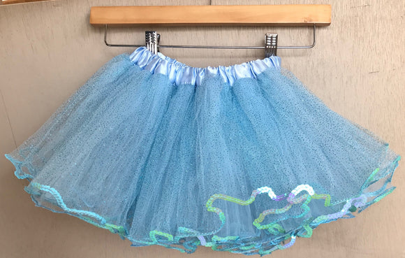 TUTU - PALE BLUE SEQUIN GLITTER