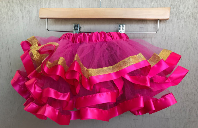 TUTU - HOT PINK AND GOLD