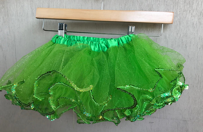 TUTU - LIME GREEN SEQUIN TUTU