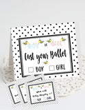 BEE REVEAL - WHAT WILL BABY BEE? - BABY REVEAL PARTY PACKAGE -  PRINTABLE PARTY PACKAGE STORK BABY SHOWER - JPG/PDF - DIY