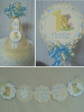WINNIE THE POOH AND PIGLET - SMASH CAKE  - 1ST BIRTHDAY PARTY PACKAGE