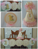WINNIE THE POOH AND PIGLET - SMASH CAKE - BIRTHDAY PARTY PACKAGE