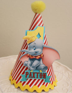 DUMBO - BIRTHDAY PARTY HAT - RED