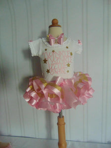 TWINKLE TWINKLE - 1ST BIRTHDAY OUTFIT