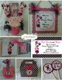 MINNIE MOUSE HAPPY BIRTHDAY PARTY PACKAGE