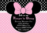 MINNIE MOUSE POLKA DOT 1ST BIRTHDAY PARTY PACKAGE
